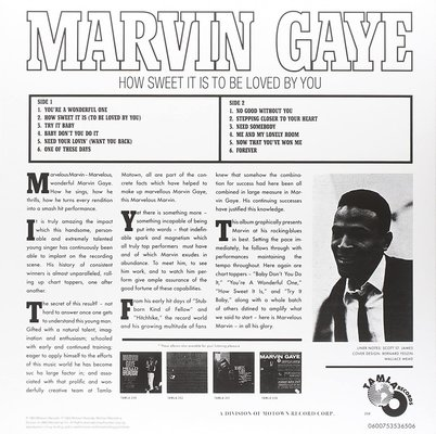 Marvin Gaye How Sweet It Is To Be Loved By You (Vinyl LP)