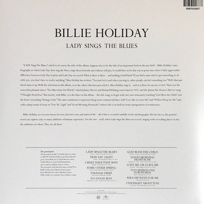 Billie Holiday Lady Sings The Blues (Vinyl LP)