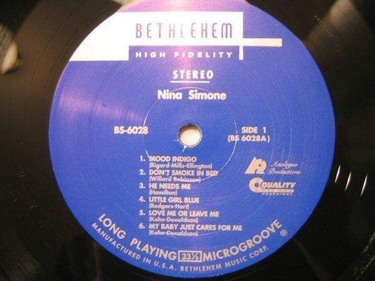 Nina Simone Little Girl Blue (Vinyl LP)
