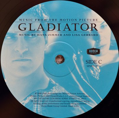 Gladiator (Movie) Music From The Motion Picture (2 LP)