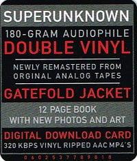 Soundgarden Superunknown (2 LP)