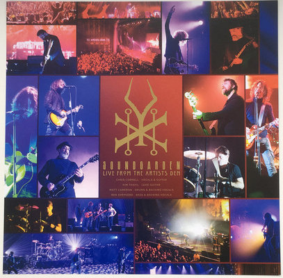 Soundgarden Live At The Artists Den (4 LP)
