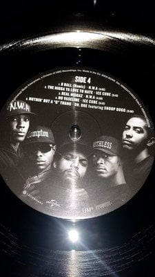Straight Outta Compton Music From The Motion Picture (2 LP)