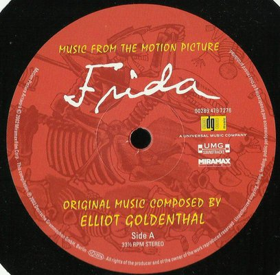 Frida Music From The Motion Picture (Vinyl LP)