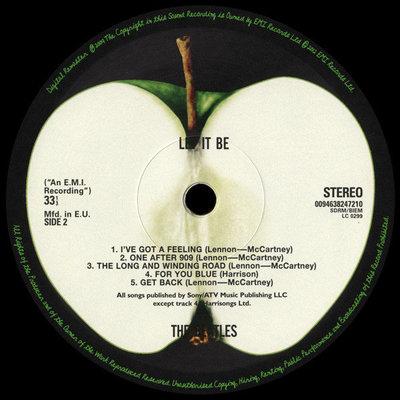The Beatles Let It Be (Vinyl LP)