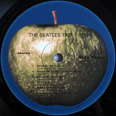 The Beatles The Beatles 1967-1970 (2 LP)