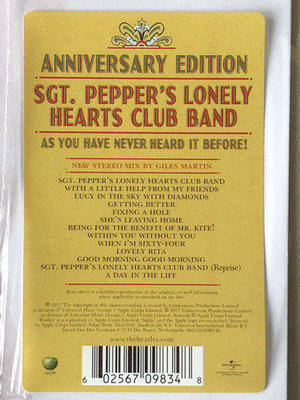 The Beatles Sgt. Pepper's Lonely Hearts Club Band (Remaster) (Vinyl LP)