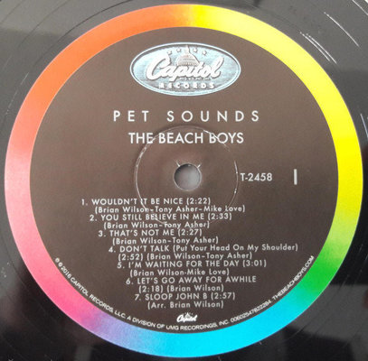 The Beach Boys Pet Sounds (Mono) (Vinyl LP)