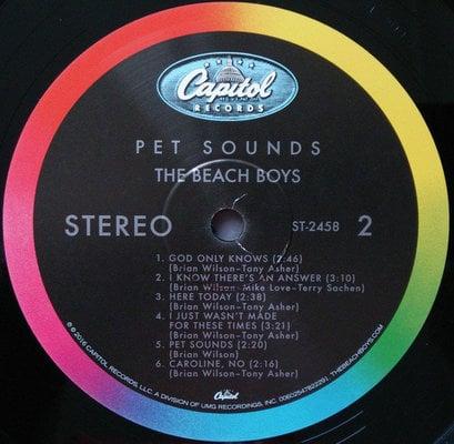 The Beach Boys Pet Sounds (Stereo) (Vinyl LP)