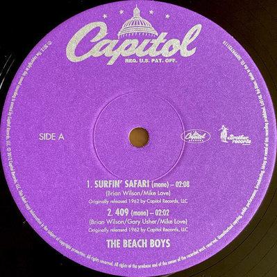 The Beach Boys Surfin' Safari (10'' Vinyl LP)