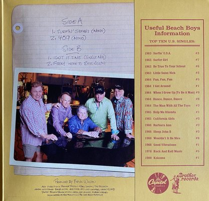 The Beach Boys Surfin' Safari (10'' Vinyl LP)