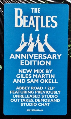 The Beatles Abbey Road Anniversary (3 LP Deluxe Edition)