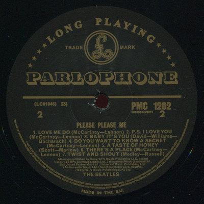 The Beatles Please Please Me (Mono) (Vinyl LP)