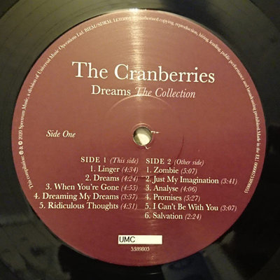 The Cranberries Dreams: The Collection (Vinyl LP)