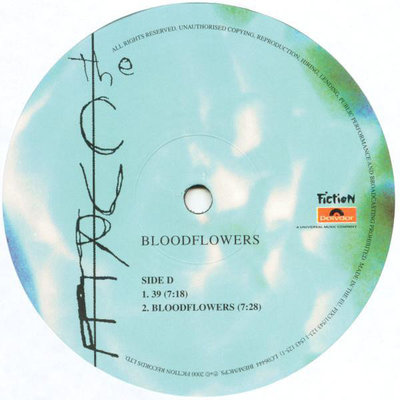 The Cure Bloodflowers (2 LP)
