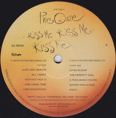 The Cure Kiss Me, Kiss Me, Kiss Me (2 LP)
