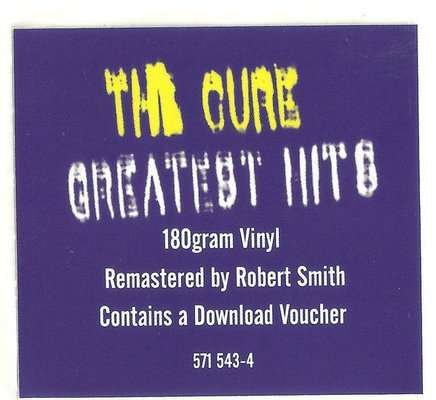 The Cure Greatest Hits (2 LP)