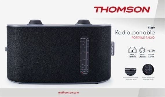 Thomson RT250 Black