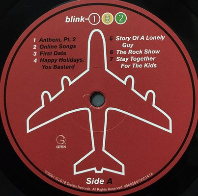 Blink-182 Take Off Your Pants And Jacket (Vinyl LP)