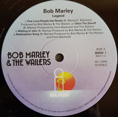 Bob Marley & The Wailers Legend - The Best Of Bob Marley And The Wailers (2 LP)