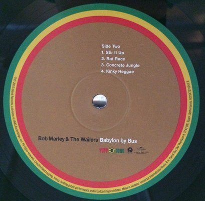Bob Marley & The Wailers Babylon By Bus (2 LP)