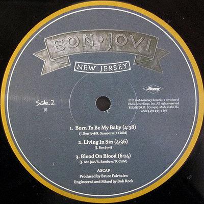 Bon Jovi New Jersey (2 LP)