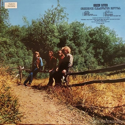 Creedence Clearwater Revival Green River (1/2 Speed Master Vinyl LP)