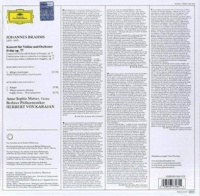 Johannes Brahms Koncert pro housle (Mutter, Karajan, Berliner Philharmoniker)