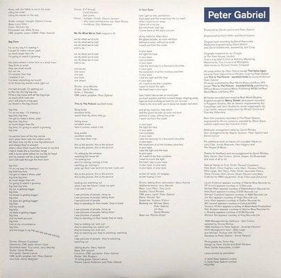 Peter Gabriel So (Vinyl LP)