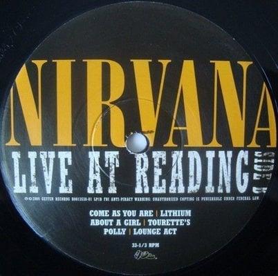 Nirvana Live At Reading (2 LP)