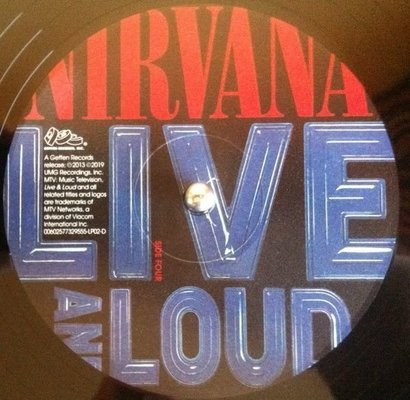 Nirvana Live And Loud (2 LP)