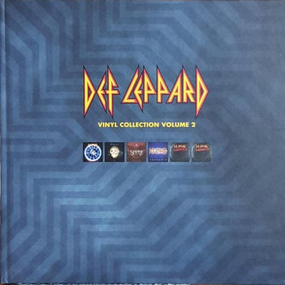 Def Leppard The Vinyl Collection Volume Two (10 LP Box Set)