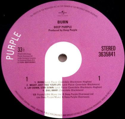 Deep Purple Burn (Vinyl LP)