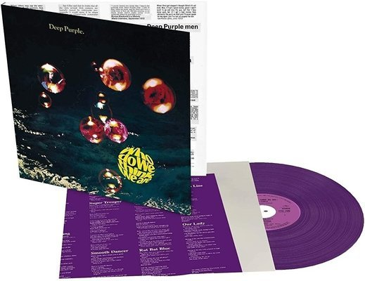 Deep Purple Who Do We Think We Are (Purple Coloured Vinyl LP)