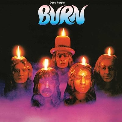 Deep Purple Burn (Purple Coloured Vinyl LP)
