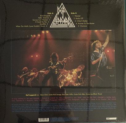 Def Leppard On Through The Night (Vinyl LP)