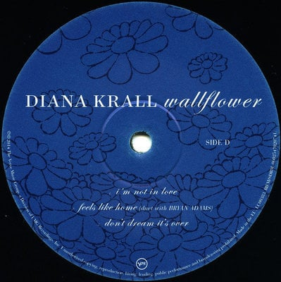 Diana Krall Wall Flower (2 LP)