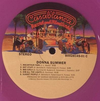 Donna Summer On The Radio: Greatest Hits Vol- I & II (2 LP)