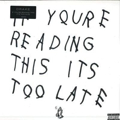 Drake If You're Reading This It's Too Late (2 LP)