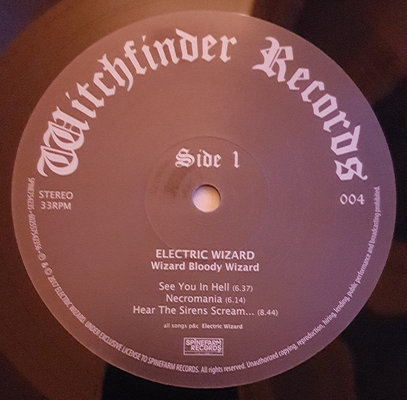 Electric Wizard Wizard Bloody Wizard (Vinyl LP)