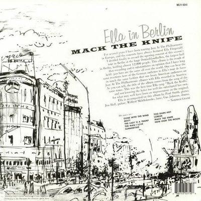 Ella Fitzgerald Mack The Knife: Live In Berlin (Vinyl LP)