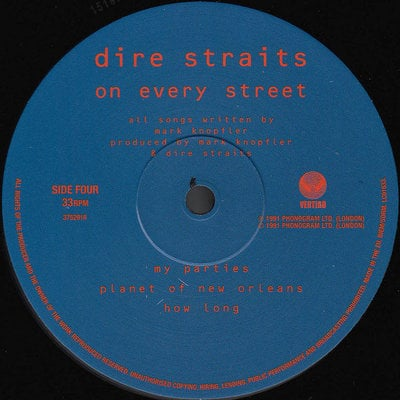 Dire Straits On Every Street (2 LP)