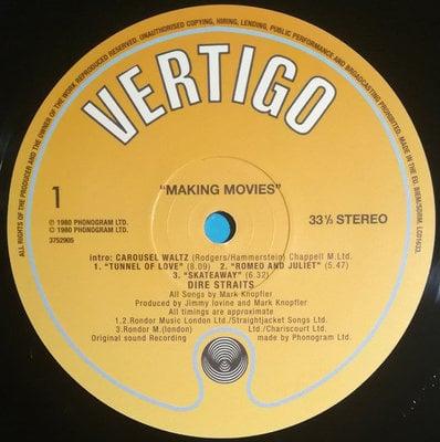 Dire Straits Making Movies (Vinyl LP)