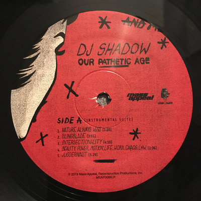 DJ Shadow Our Pathetic Age (2 LP)