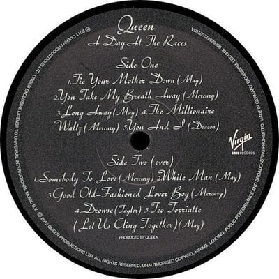 Queen A Day At The Races (Vinyl LP)