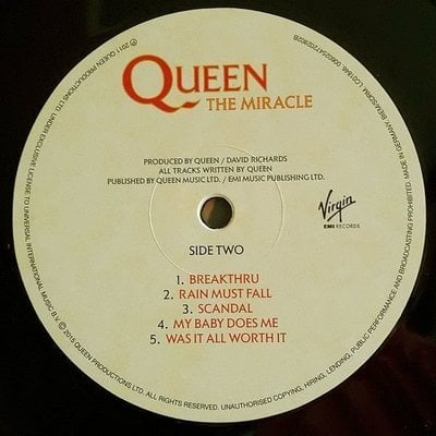 Queen The Miracle (Vinyl LP)