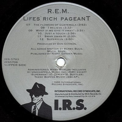 R.E.M. Lifes Rich Pageant (Vinyl LP)