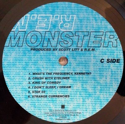 R.E.M. Monster (Vinyl LP)