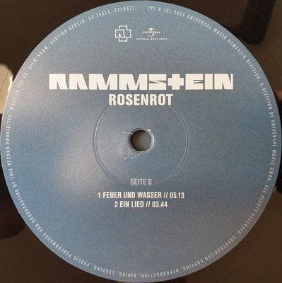 Rammstein Rosenrot (2 LP)