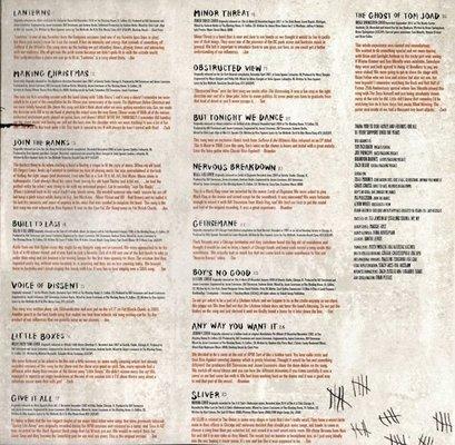 Rise Against Long Forgotten Songs (2 LP)